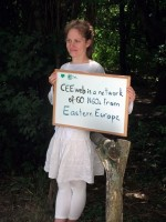 CEEweb makes its promotional film in a forest 2