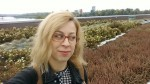 Iwona Machlińska: Selfie on the rooftop garden of Copernicus Science Centre of Warsaw, Poland